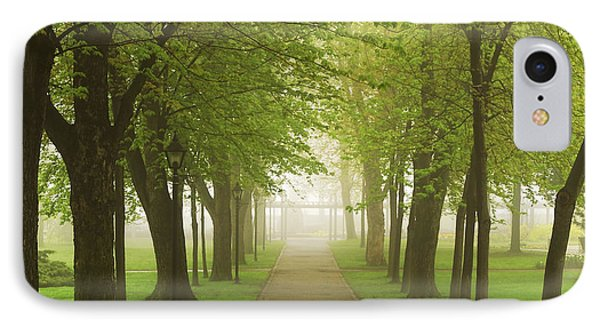 Foggy Park IPhone Case by Elena Elisseeva