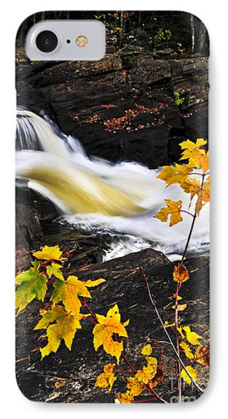 Forest River In The Fall Phone Case by Elena Elisseeva