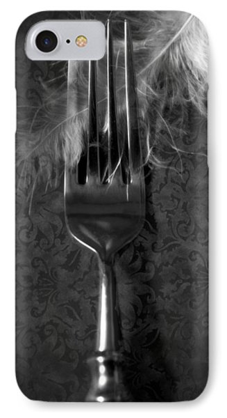 Fork And Feather Phone Case by Joana Kruse