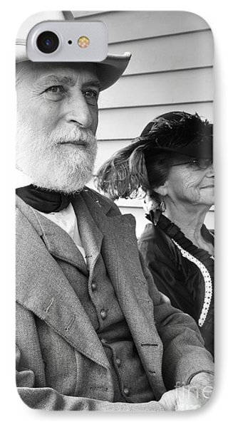 General Lee And Mary Custis Lee Phone Case by Thomas R Fletcher