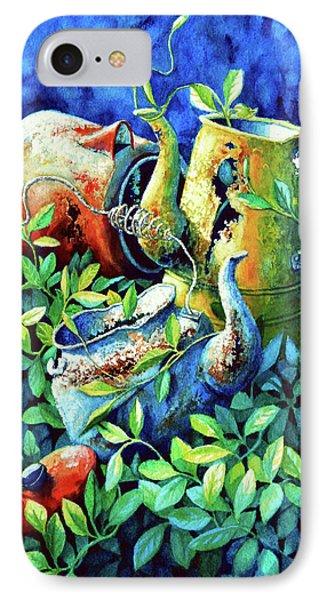 Kettle Cluster Phone Case by Hanne Lore Koehler