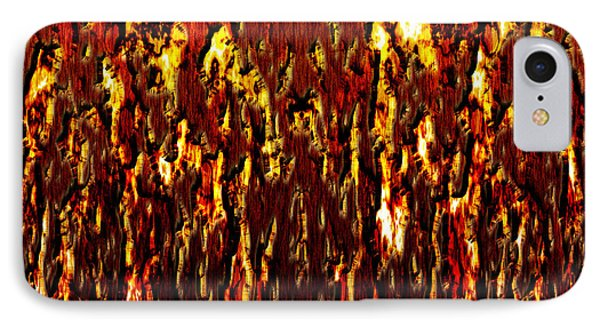 Lava And Brimstone Phone Case by Christopher Gaston