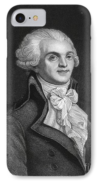 Maximilien Robespierre Phone Case by Granger