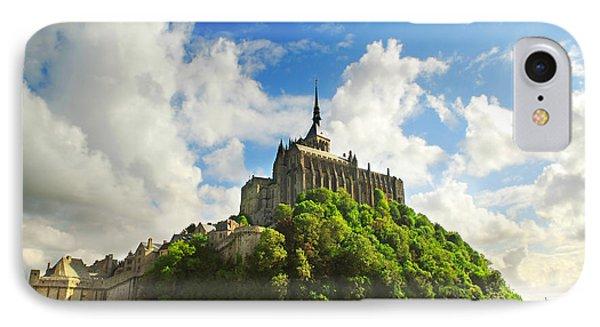 Mont Saint Michel Phone Case by Elena Elisseeva