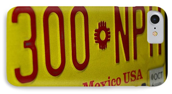 New Mexico Tag Phone Case by Rob Hans