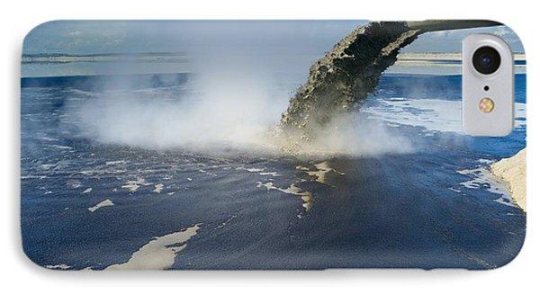 Oil Industry Pollution Phone Case by David Nunuk