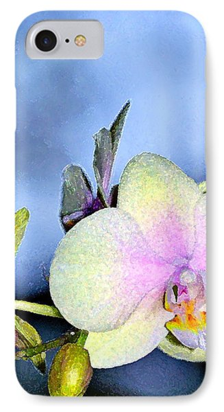 Orchid 1 Phone Case by Pamela Cooper