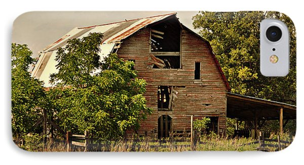 Ozark Barn Phone Case by Marty Koch