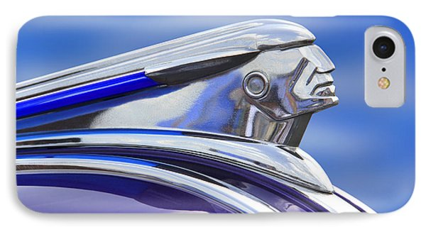 Pontiac Hood Ornament  Phone Case by Mike McGlothlen