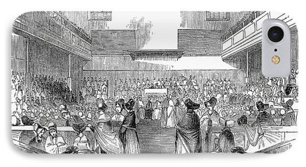 Quaker Meeting, 1843 Phone Case by Granger