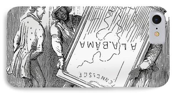Reconstruction Cartoon IPhone Case by Granger