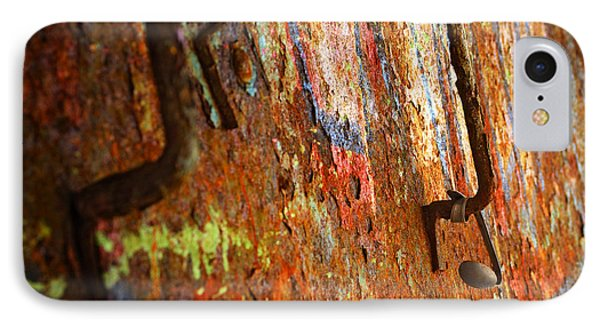 Rust Background Phone Case by Carlos Caetano