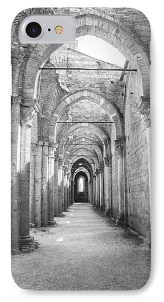 San Galgano Abbey Phone Case by Ralf Kaiser