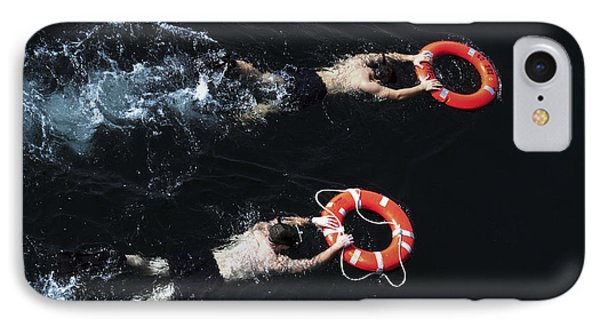 Search And Rescue Swimmers Phone Case by Stocktrek Images
