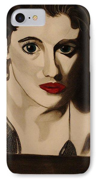 Self Portrait Phone Case by Teri Schuster