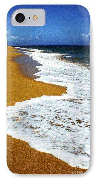 Shoreline Along Pinones Phone Case by Thomas R Fletcher