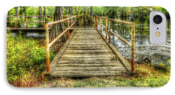 Swamp Dock Phone Case by Ester  Rogers