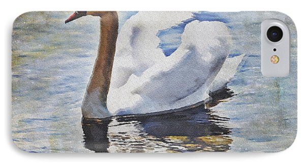 Swan IPhone Case by Joana Kruse