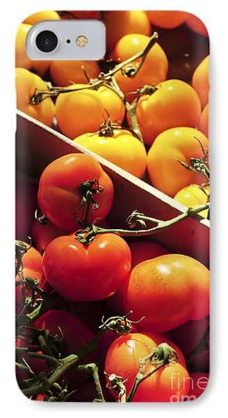 Tomatoes On The Market IPhone Case by Elena Elisseeva