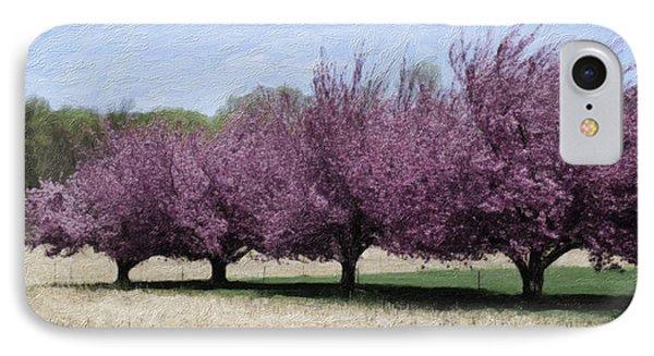 Trees On Warwick Phone Case by Trish Tritz