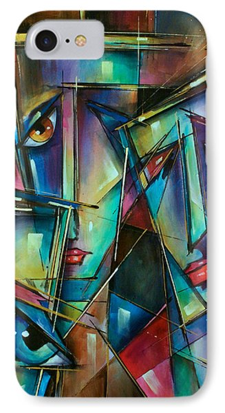 Trio Phone Case by Michael Lang