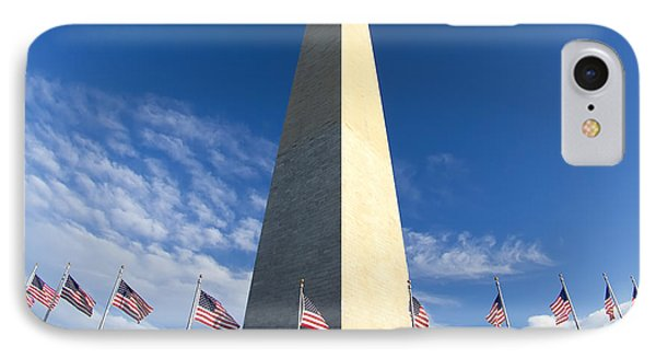 Washington Monument IPhone Case by Dustin K Ryan