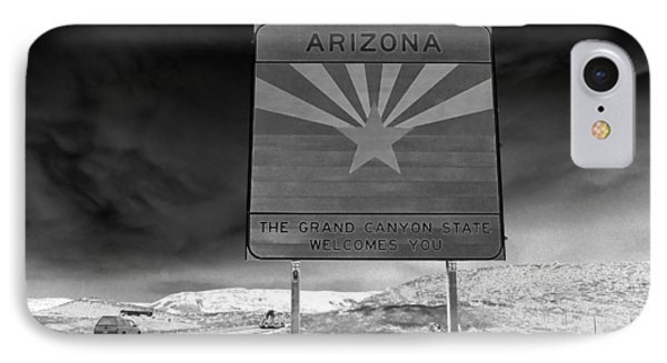 Welcome Sign Phone Case by David Lee Thompson