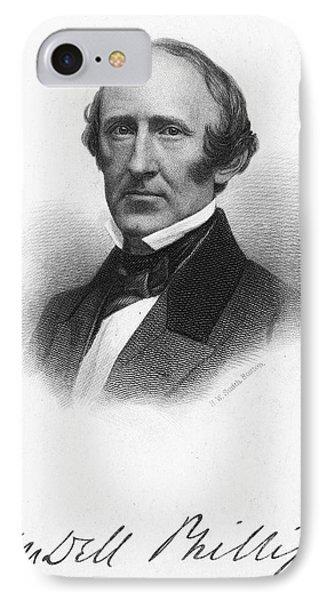 Wendell Phillips (1811-1884) Phone Case by Granger
