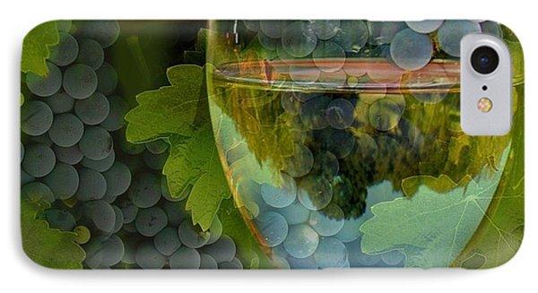 Wine Glass Phone Case by Stephanie Laird