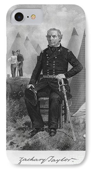 Zachary Taylor (1784-1850) Phone Case by Granger
