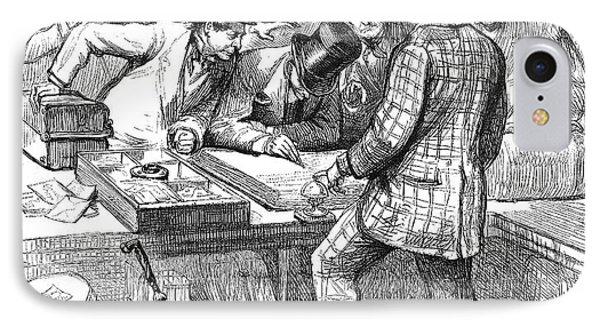 Centennial Fair, 1876 Phone Case by Granger