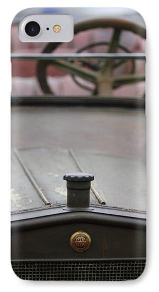 1916 Winton Model 33 Touring Hood Ornament Phone Case by Jill Reger