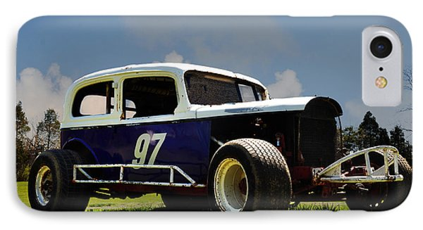 1934 Ford Stock Car Phone Case by Bill Cannon