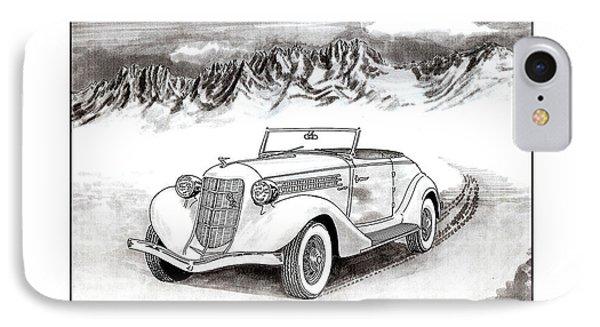 1936 Auburn 810 Phone Case by Jack Pumphrey
