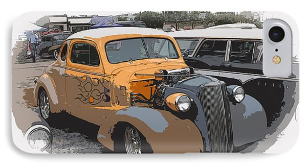 1937 Chevy Coupe Phone Case by Steve McKinzie