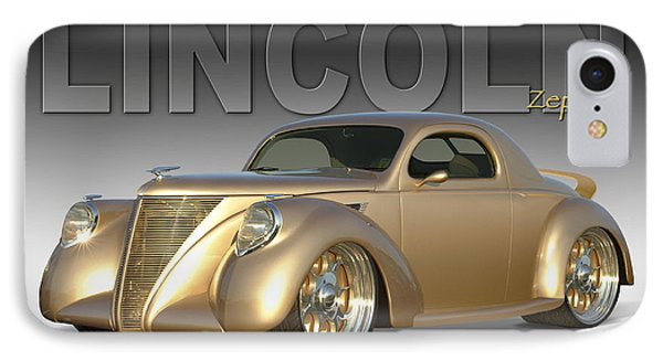 1937 Lincoln Zephyr Phone Case by Mike McGlothlen