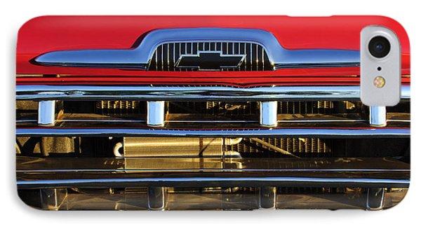 1957 Chevrolet Pickup Truck Grille Emblem Phone Case by Jill Reger