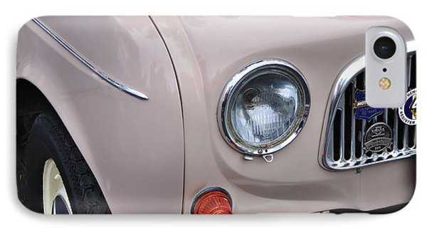 1963 Renault R4 - Headlight And Grill Phone Case by Kaye Menner
