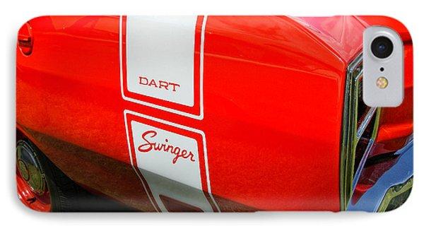 1969 Dodge Dart Swinger 340 Phone Case by Thomas Schoeller