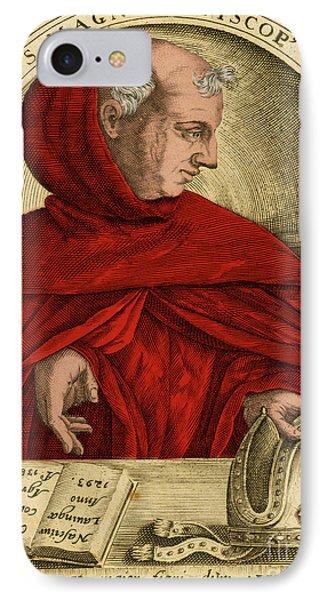 Albertus Magnus, Medieval Philosopher Phone Case by Science Source