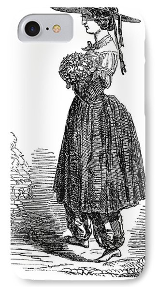 Amelia Bloomer (1818-1894) Phone Case by Granger