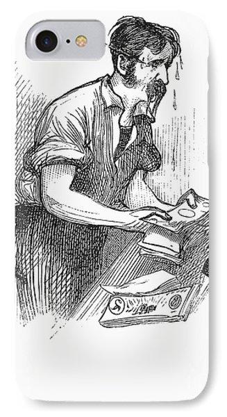 Bank Panic, 1873 Phone Case by Granger
