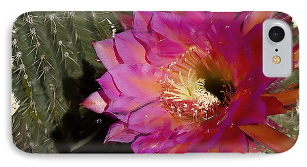 Cactus Flower  Phone Case by Jim and Emily Bush