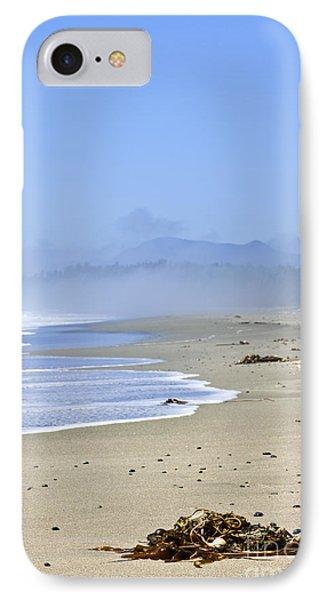 Coast Of Pacific Ocean In Canada IPhone Case by Elena Elisseeva