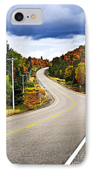 Fall Highway Phone Case by Elena Elisseeva