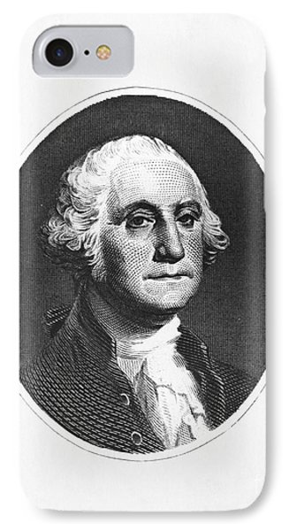 George Washington, 1st American IPhone Case by Photo Researchers
