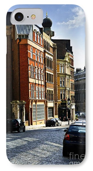 London Street Phone Case by Elena Elisseeva