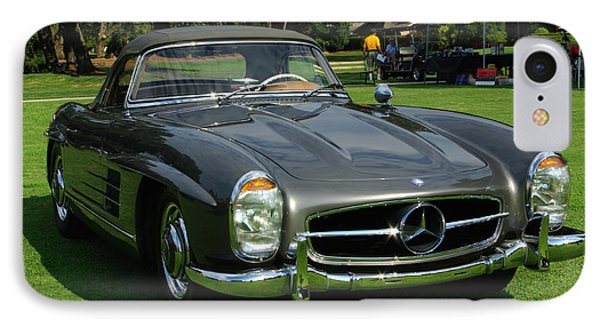 Mercedes 300 Sl Phone Case by Peter Piatt
