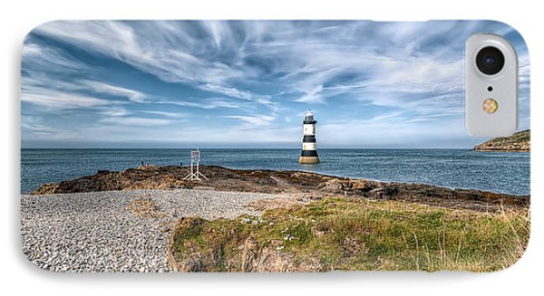 Penmon Point Phone Case by Adrian Evans