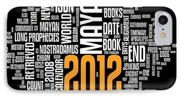 2012 Maya Prophecies Phone Case by Stefano Senise